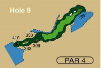 HOLE 9 PAR 4, 362 Yards
