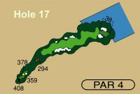 HOLE 17 PAR 4, 378 Yards